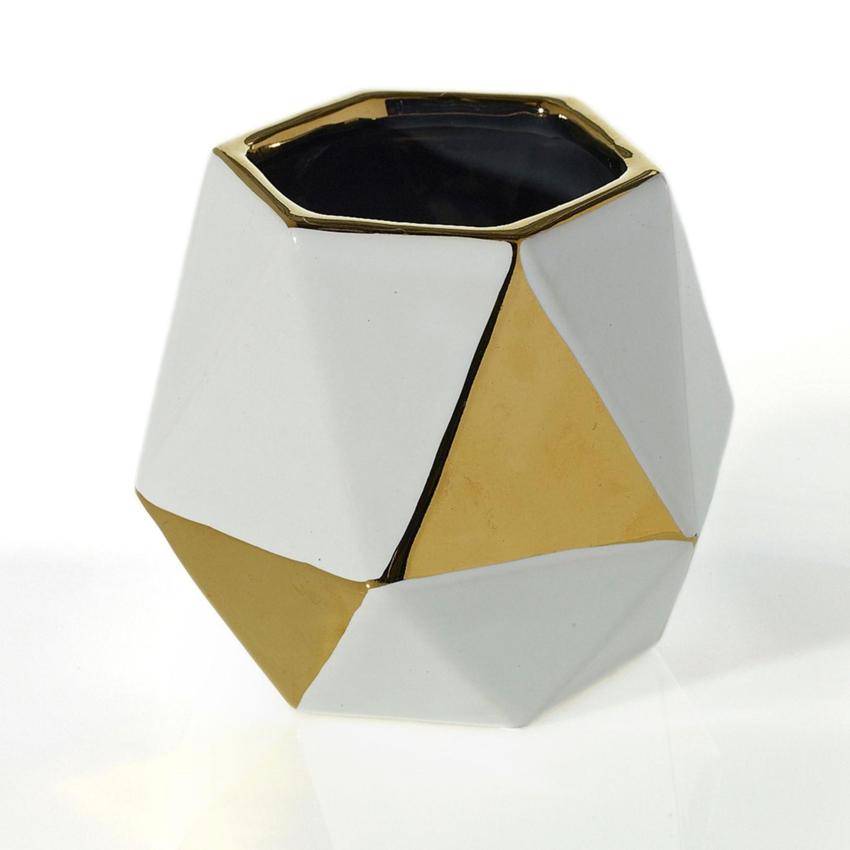 4.75'' x 4.25'' x 4'' Instyle Geo Vase (AD)