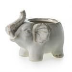 """5""""X 3"""" X 4""""H Elephant Pot (AD)"""