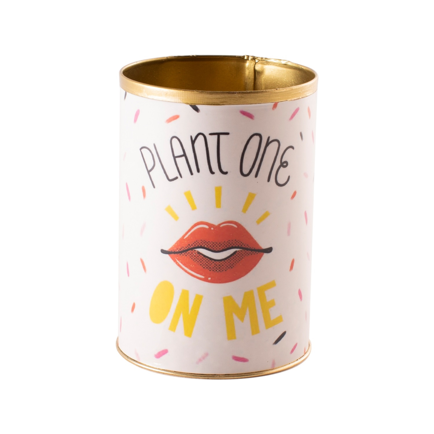 """3.25""""x 4.5""""h Plant One PUNNY CAN (AD)"""