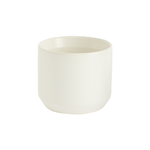 """2.75""""H X 3.25"""" WHITE KENDALL POT COLLECTION (AD)"""