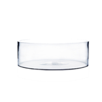"""Clear 12"""""""" Round Low-Dish H-4"""""""" x D-12""""""""  LOW CYLINDER box can be marked U9674(8) or 3412(6)"""