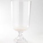 "13""H X 5.5"" GLASS COMPOTE/PEDESTAL"