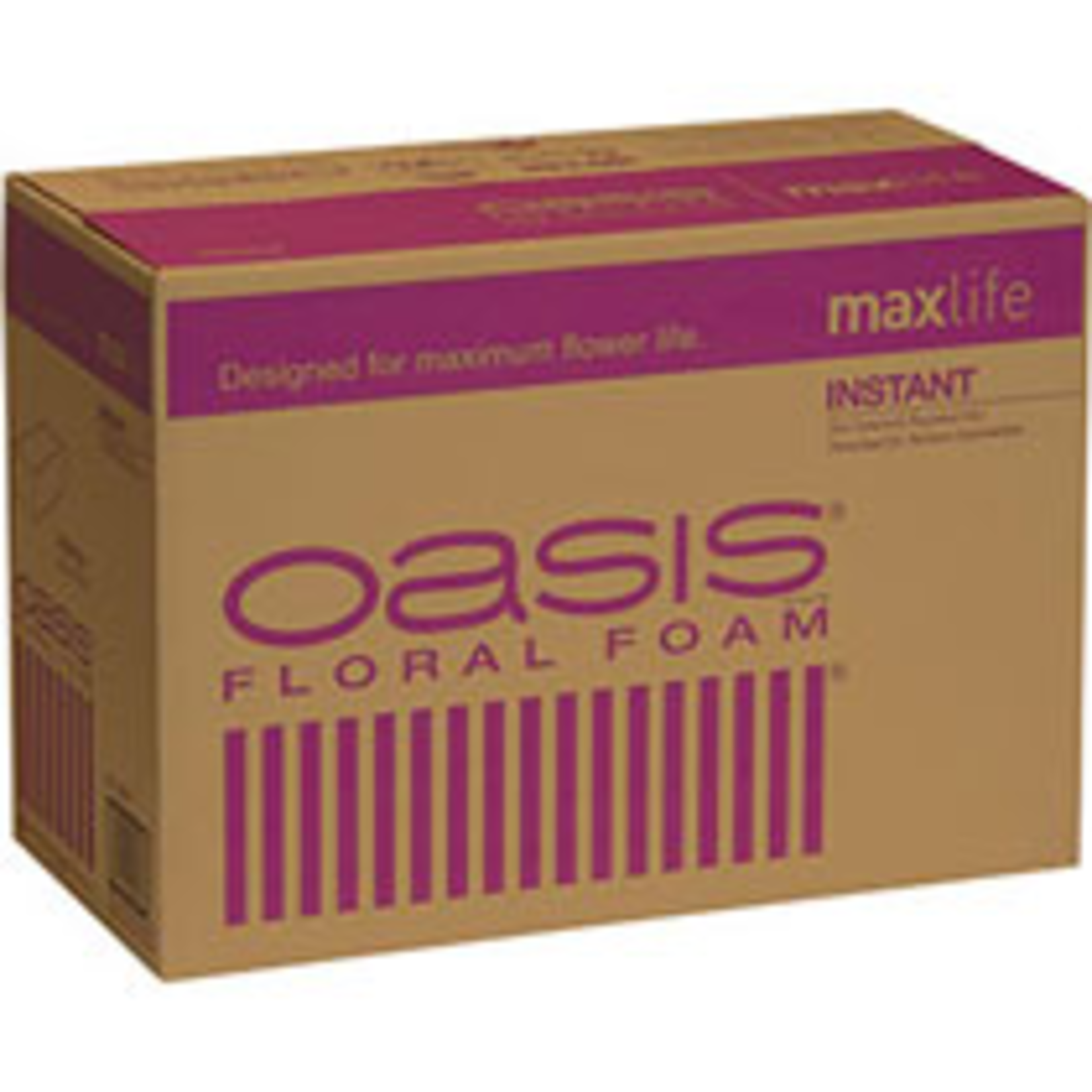 "4"" X 3"" X 9"" OASIS MAX LIFE Instant Floral Foam"