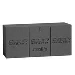 """OASIS Midnight BLACK Standard Brick 9"""" X 4"""" X 3"""""""