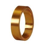 """1"""" GOLD FLAT WIRE"""