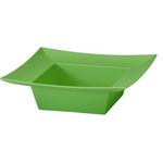 Square Bowl - Apple Green