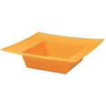 Square Bowl - Tangerine