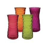 """8 1/2"""" Rose Vase Asst- ORCHID HARVEST"""