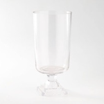 "11""H X 5"" GLASS COMPOTE/PEDESTAL"