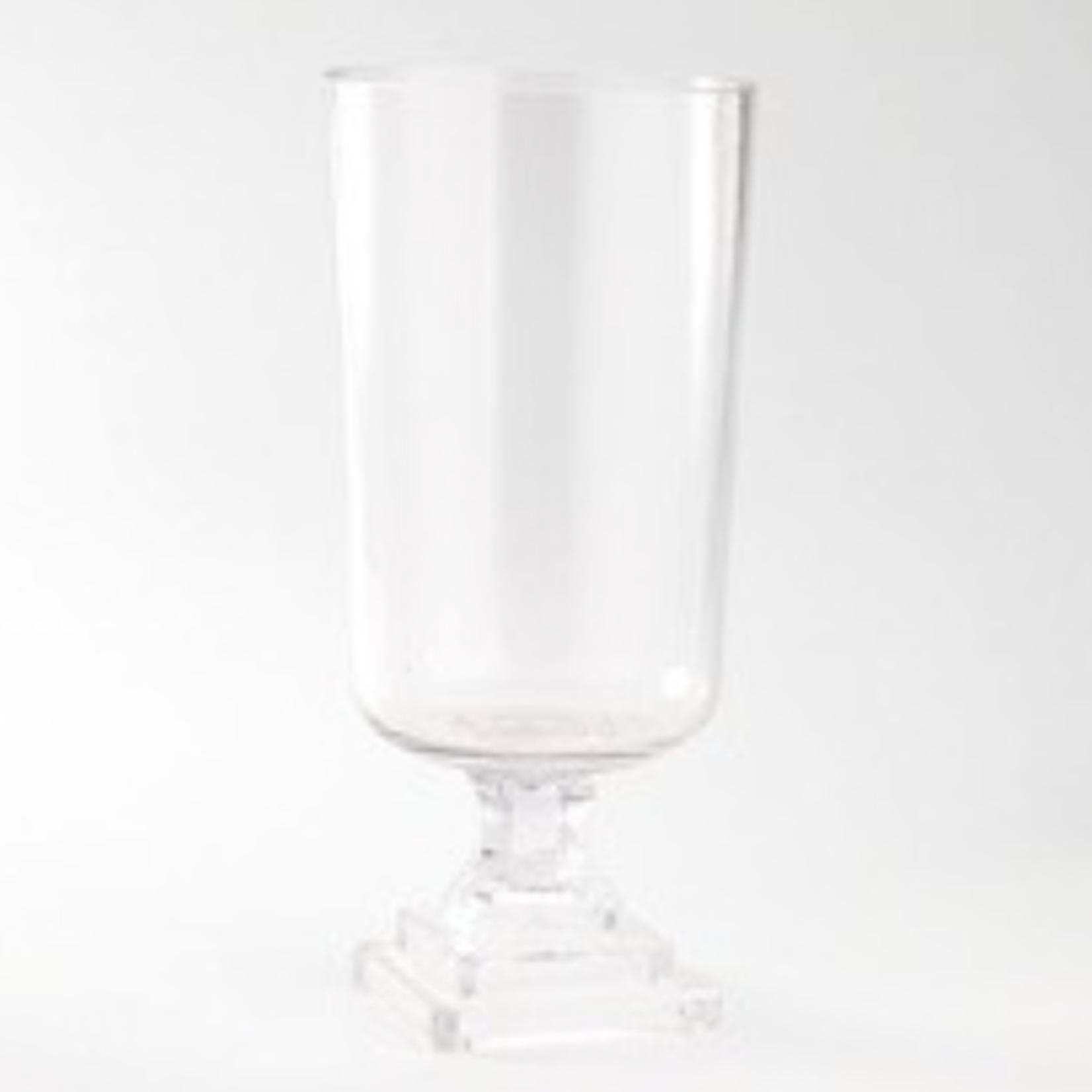 "11.5""H X 7"" GLASS COMPOTE/PEDESTAL"