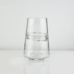 """H8"""" D5  RING GLASS VASE"""