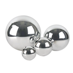 """D- 10"""" SHINY STAINLESS STEEL SPHERE"""