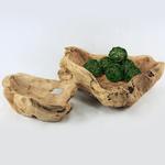 Natural Wood   Wood Bowl D- 12'
