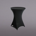 31'' X 43'' SPANDEX ROUND COCKTAIL TABLE COVER
