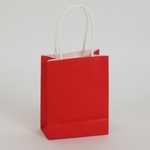 RED TOTE BAGS 6'' X 8'', 10 PCS