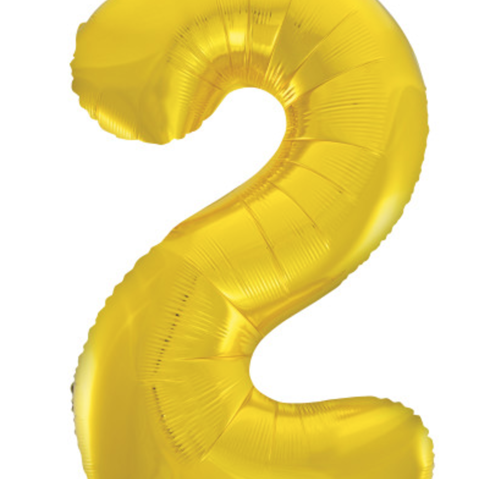 "GOLD 16"" FOIL BALLOON ""2"""