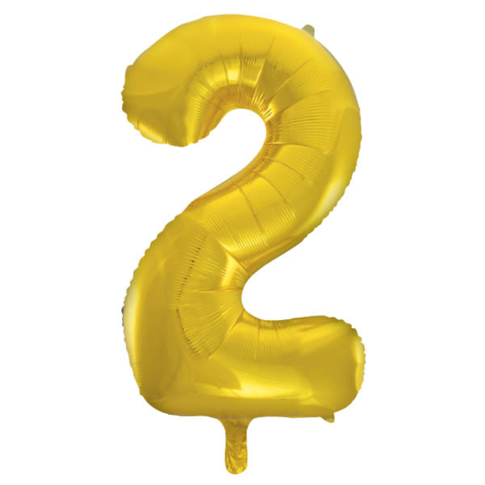 """#2 40"""" GOLD FOIL BALLOONS MYLAR"""