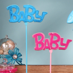 "PINK ""BABY"" PICK, PINK, 1 DZ"
