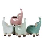 5'' STONEWARE ELEPHANT