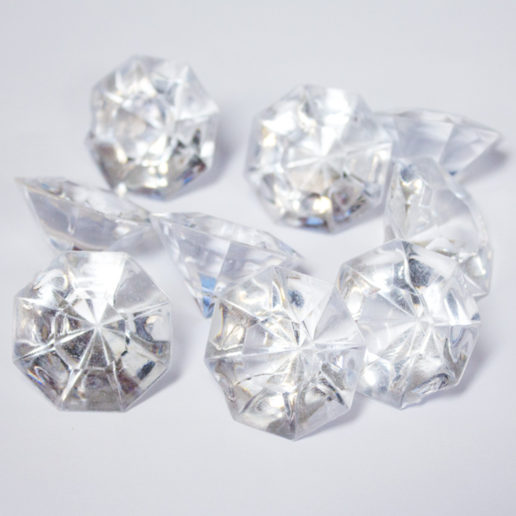 1 LB BAG CLEAR DIAMONDS