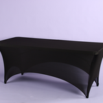"""6' SPANDEX RECTANGLE TABLE COVER 72""""L X 30""""W X 29""""H"""