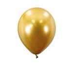 GOLD 5'' CHROME BALLOONS, 50 PCS