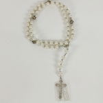 17'' GLASS PEARL ROSARY