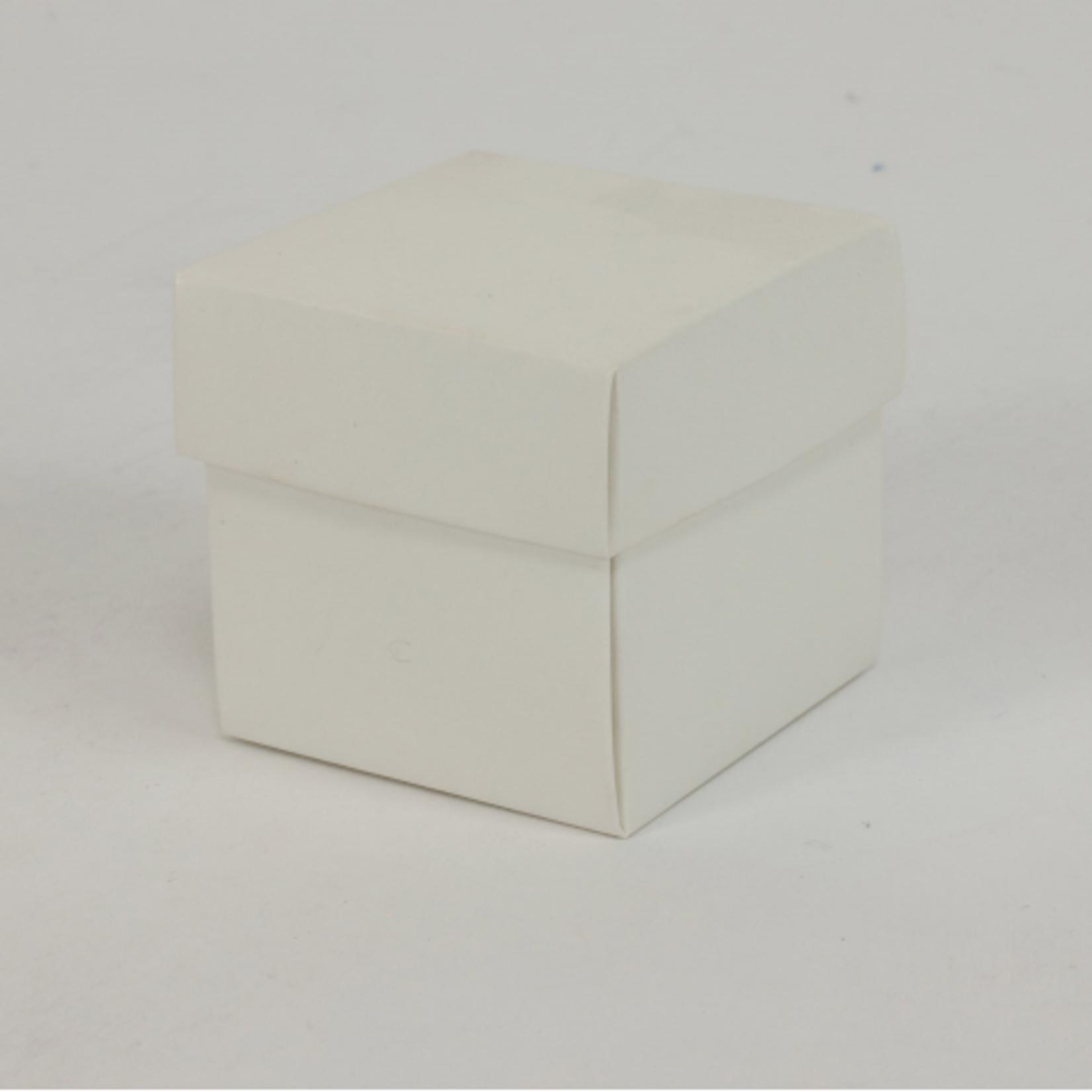 2'' CUBE BOX W LID, 24 PCS