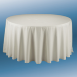 120'' ROUND POLYESTER TABLECLOTH