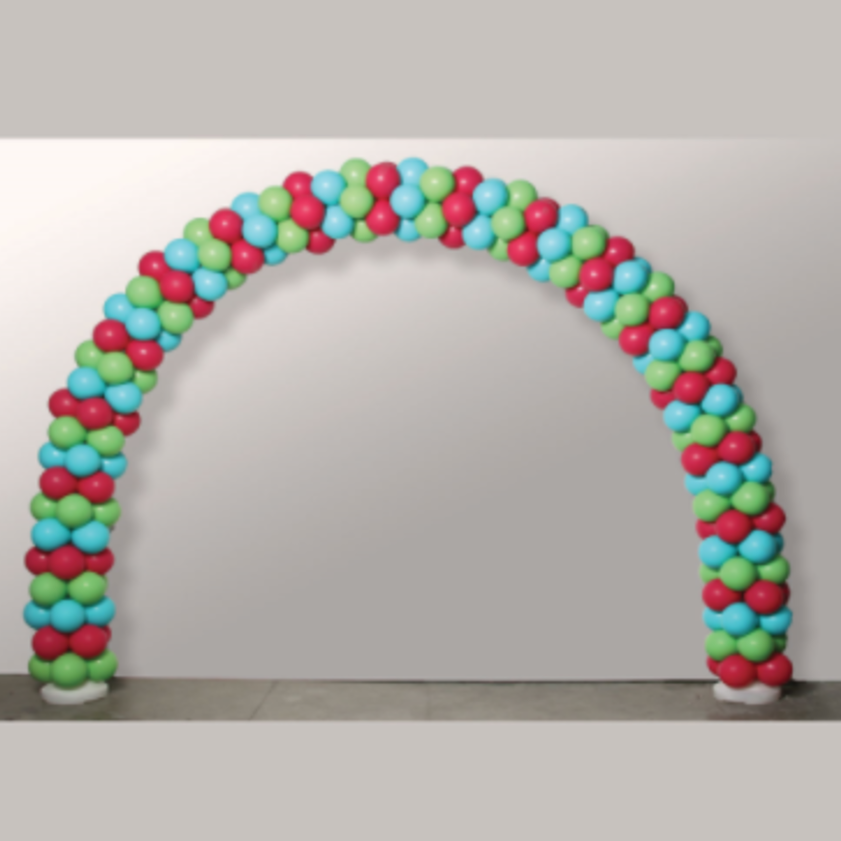 12' WIDE X 8.5'H BALLOON ARCH STAND KIT