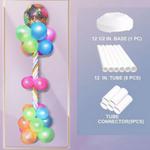 Balloon Column, 72'' , 12.5'' BASE