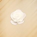 1.75'' FOAM SINGLE FLOWER, 1 DZ WHITE