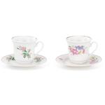 Floral Tea Cup & Saucer
