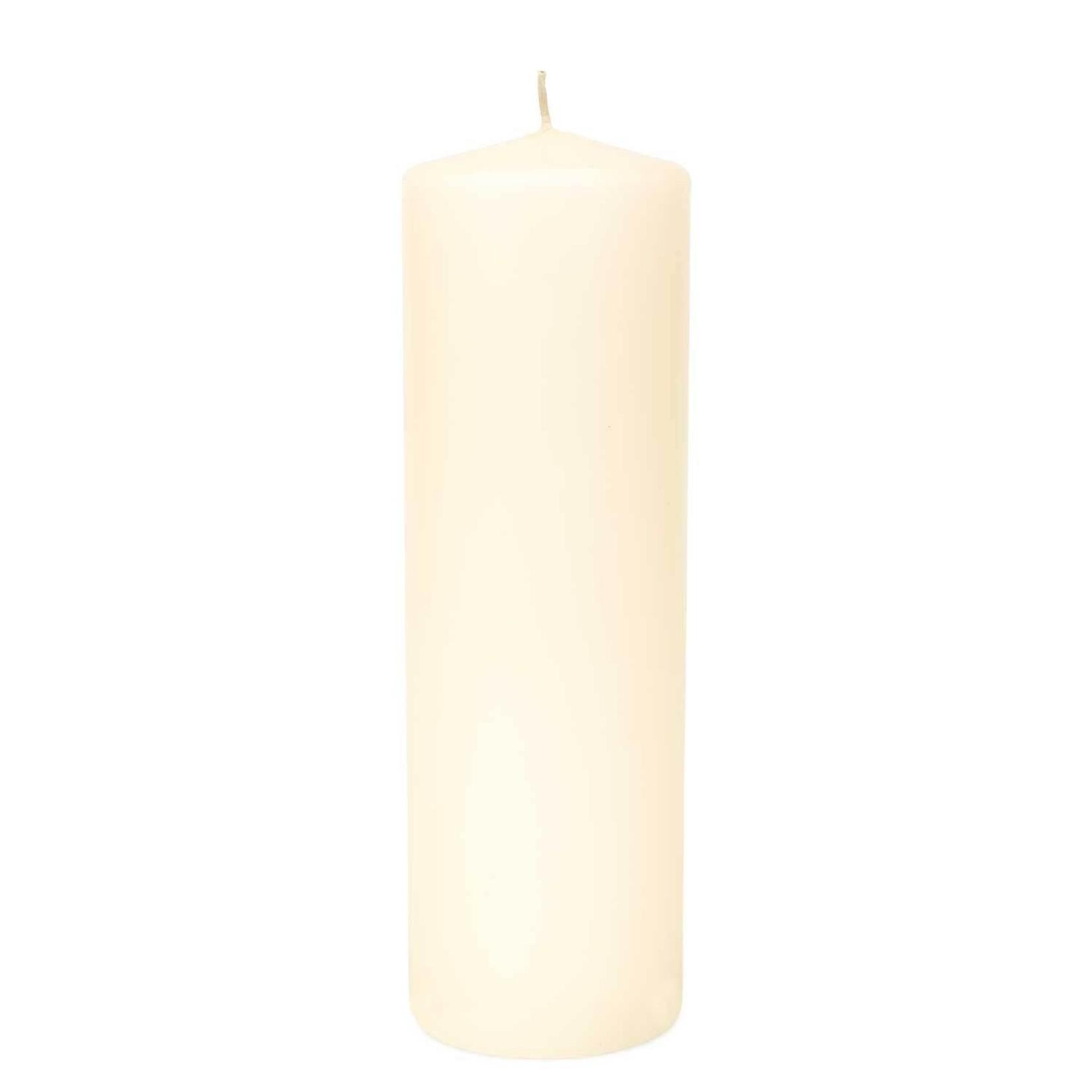"3""""X9""""H, IVORY Round Pillar Candle"