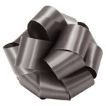 #9, 50 YD DOUBLE FACE SATIN RIBBON, PEWTER