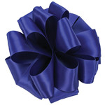 #9, 50 YD ROYAL BLUE DOUBLE FACE RIBBON