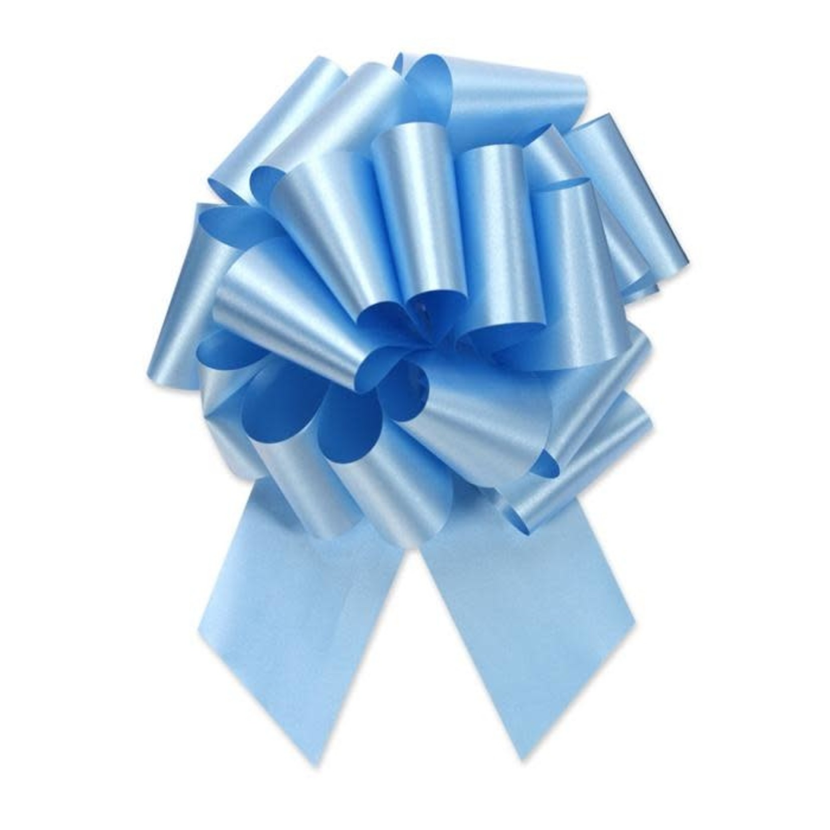 """Perfect Bow #40 BLUE, 2.5"""" ribbon width, 8""""d bow size, 20 total loops"""