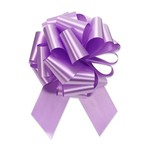 """2.5""""  Perfect Bow White #40 LAVENDER, 2.5"""" ribbon width, 8""""d bow size, 20 total loops"""