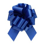 """2.5"""" Perfect Bow White #40 ROYAL BLUE, 2.5"""" ribbon width, 8""""d bow size, 20 total loops"""
