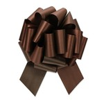 """2.5"""" Perfect Bow #40 CHOCOLATE, 2.5"""" ribbon width, 8""""d bow size, 20 total loops"""