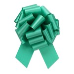 """2.5"""" Perfect Bow White #40 EMERALD, 2.5"""" ribbon width, 8""""d bow size, 20 total loops"""