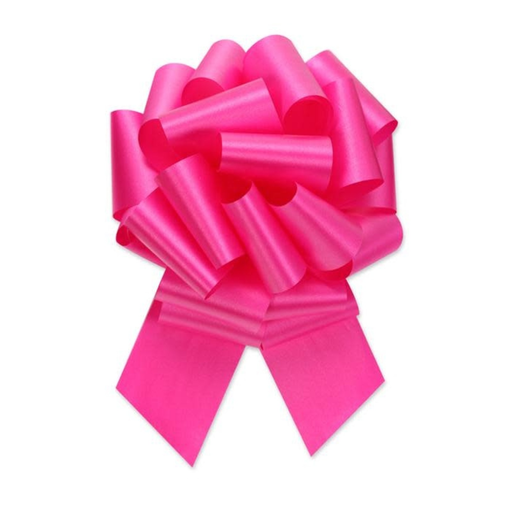 """2.5"""" Perfect Bow White #40 BEAUTY, 2.5"""" ribbon width, 8""""d bow size, 20 total loops"""