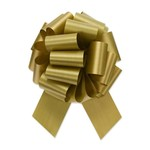 """2.5"""" Perfect Bow White #40 H.GOLD, 2.5"""" ribbon width, 8""""d bow size, 20 total loops"""
