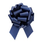 """2.5"""" Perfect Bow White #40 NAVY, 2.5"""" ribbon width, 8""""d bow size, 20 total loops"""
