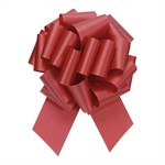 """2.5"""" Perfect Bow White #40 IMPERIAL RED, 2.5"""" ribbon width, 8""""d bow size, 20 total loops"""