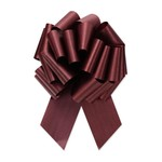 """2.5"""" Perfect Bow White #40 BURGUNDY, 2.5"""" ribbon width, 8""""d bow size, 20 total loops"""