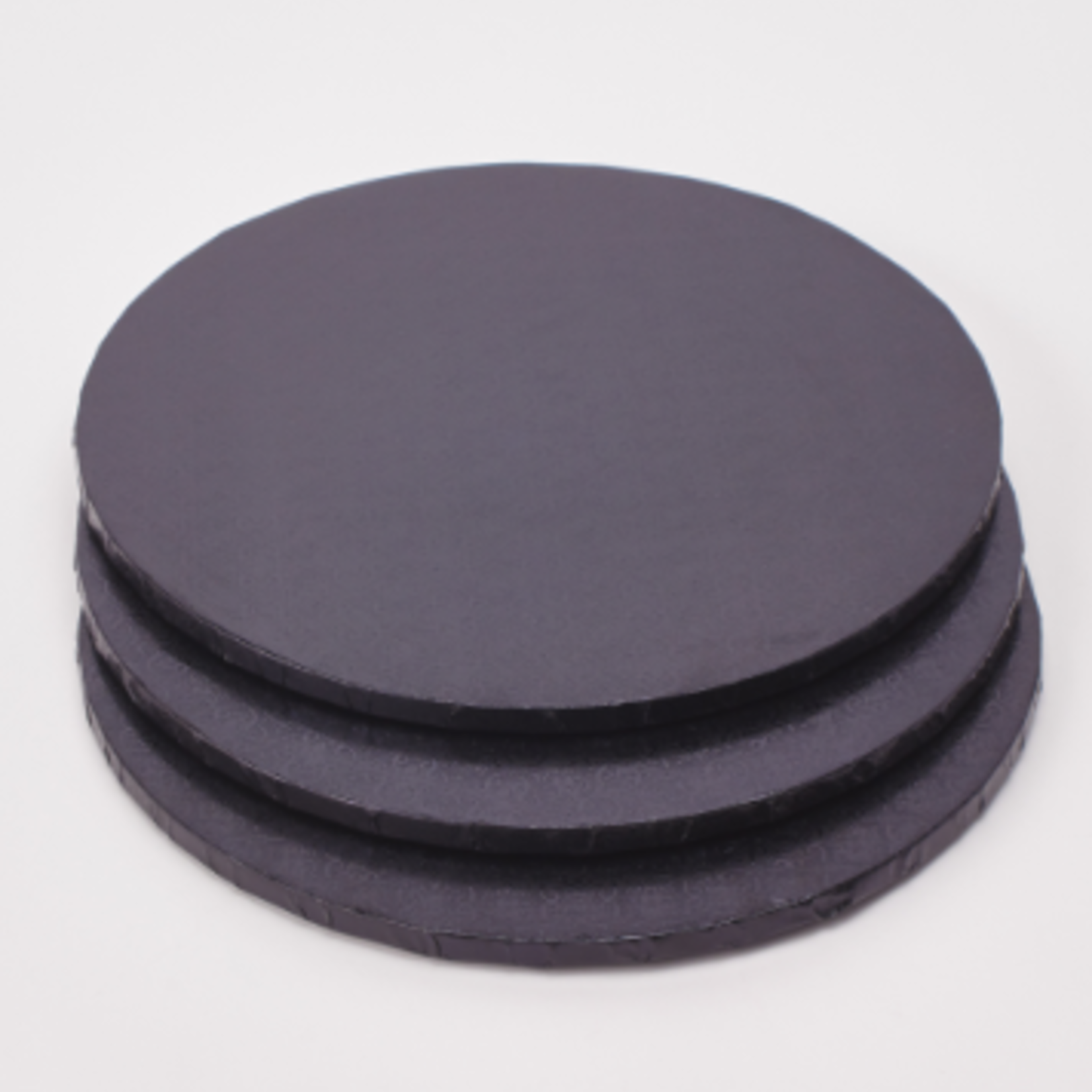 14'' BLACK FOIL COVERED CAKE BOARD (sold individually)