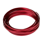 RED 5MM X 29.5' FLAT ALUMINUM WIRE