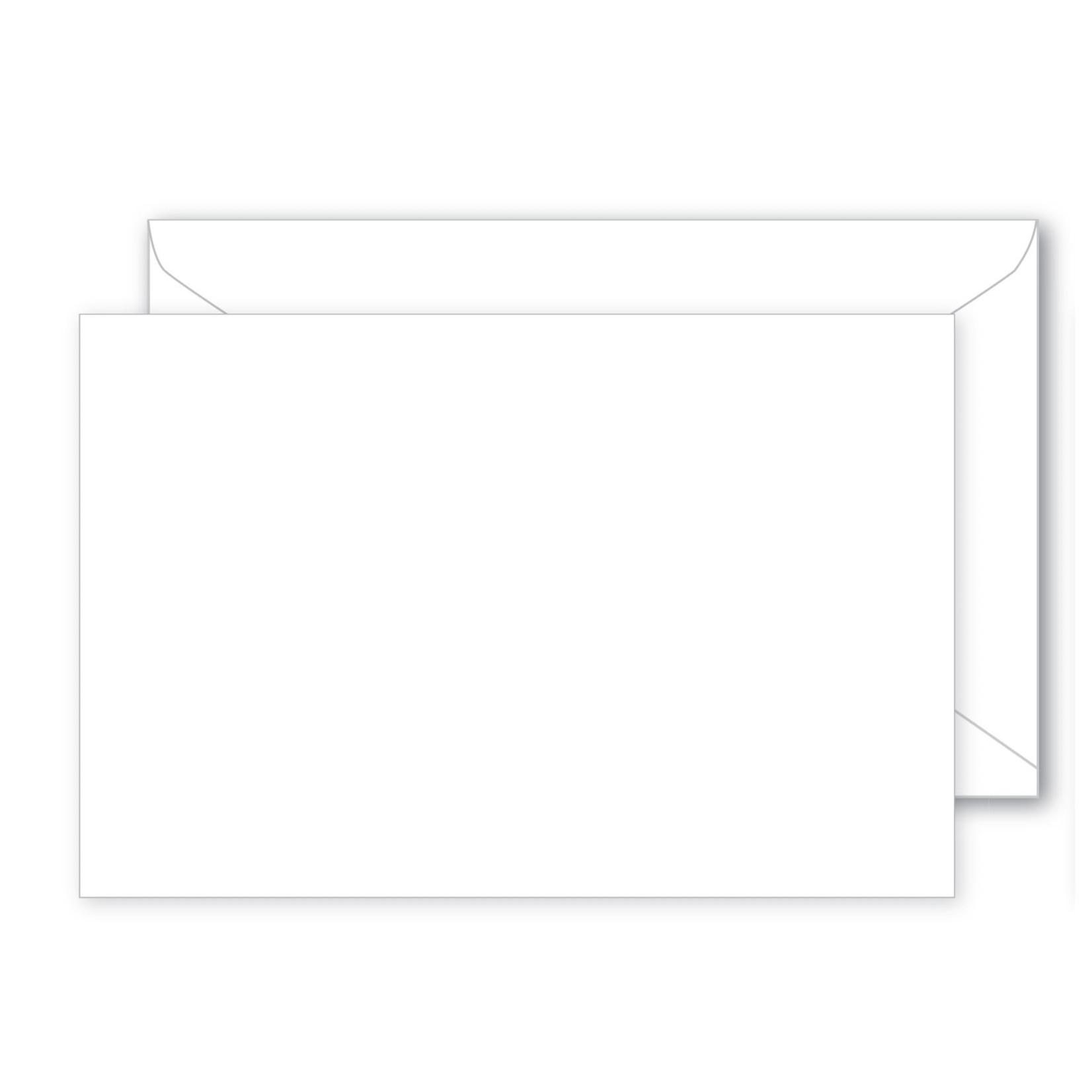 3.625 x 2.375 small  box WHITE ENVELOPE