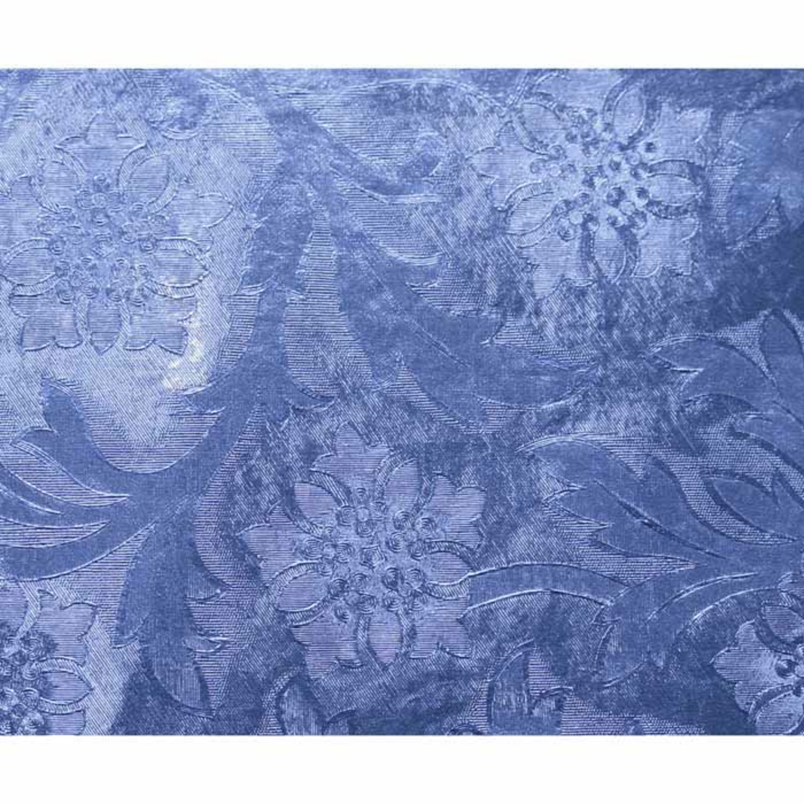 "20""x50' Royal Blue Embossed Foil"